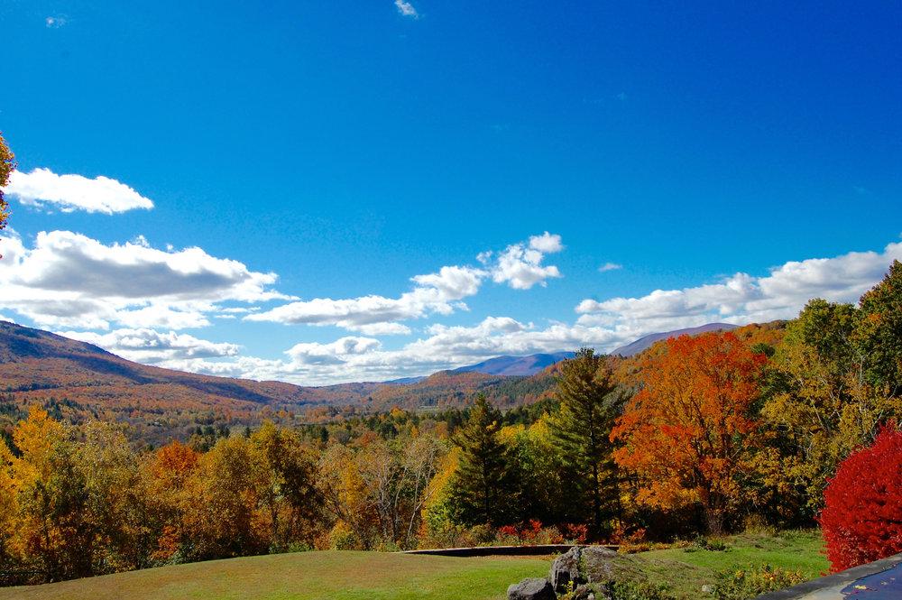 Fall view at the Wilburton